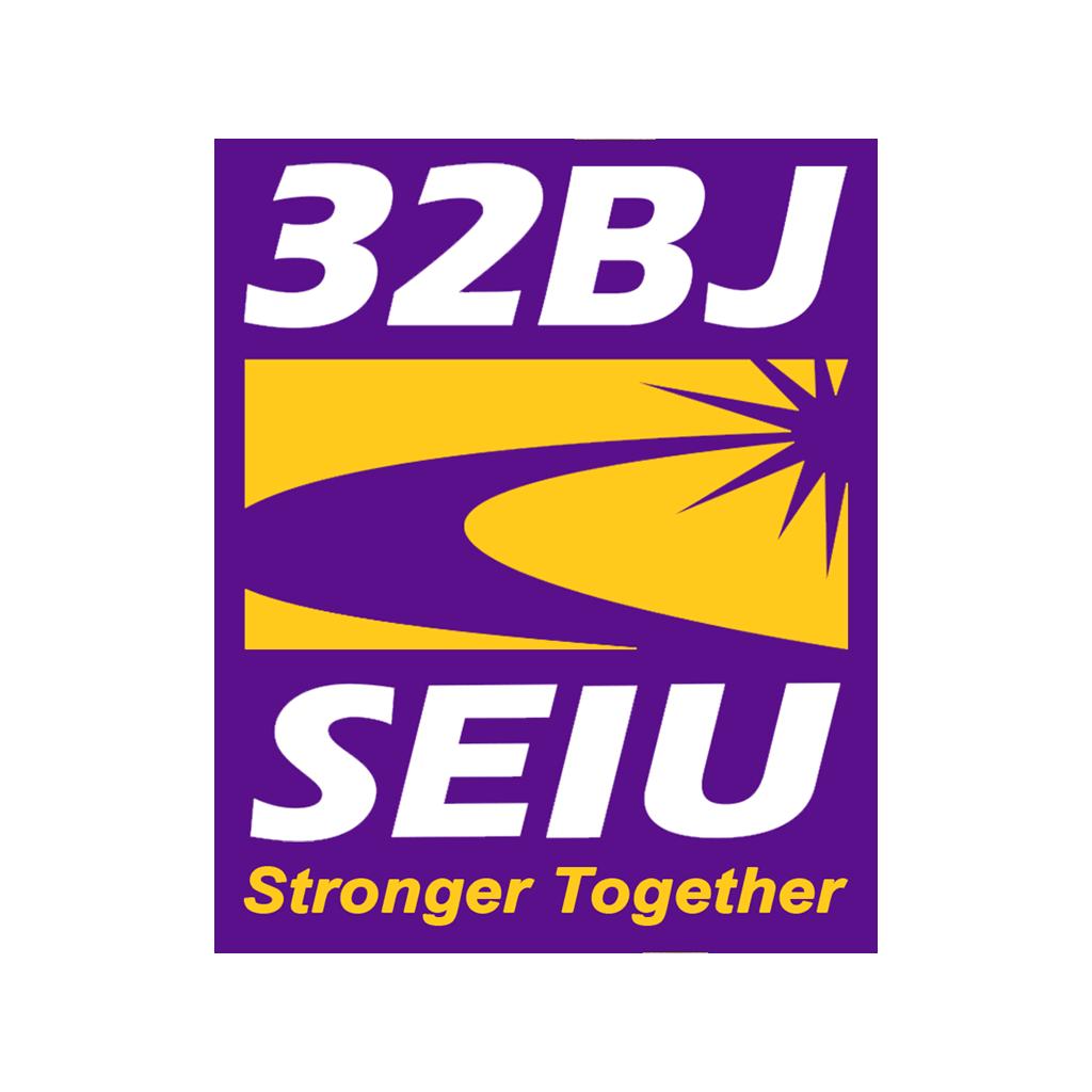 32BJ SEIU logo