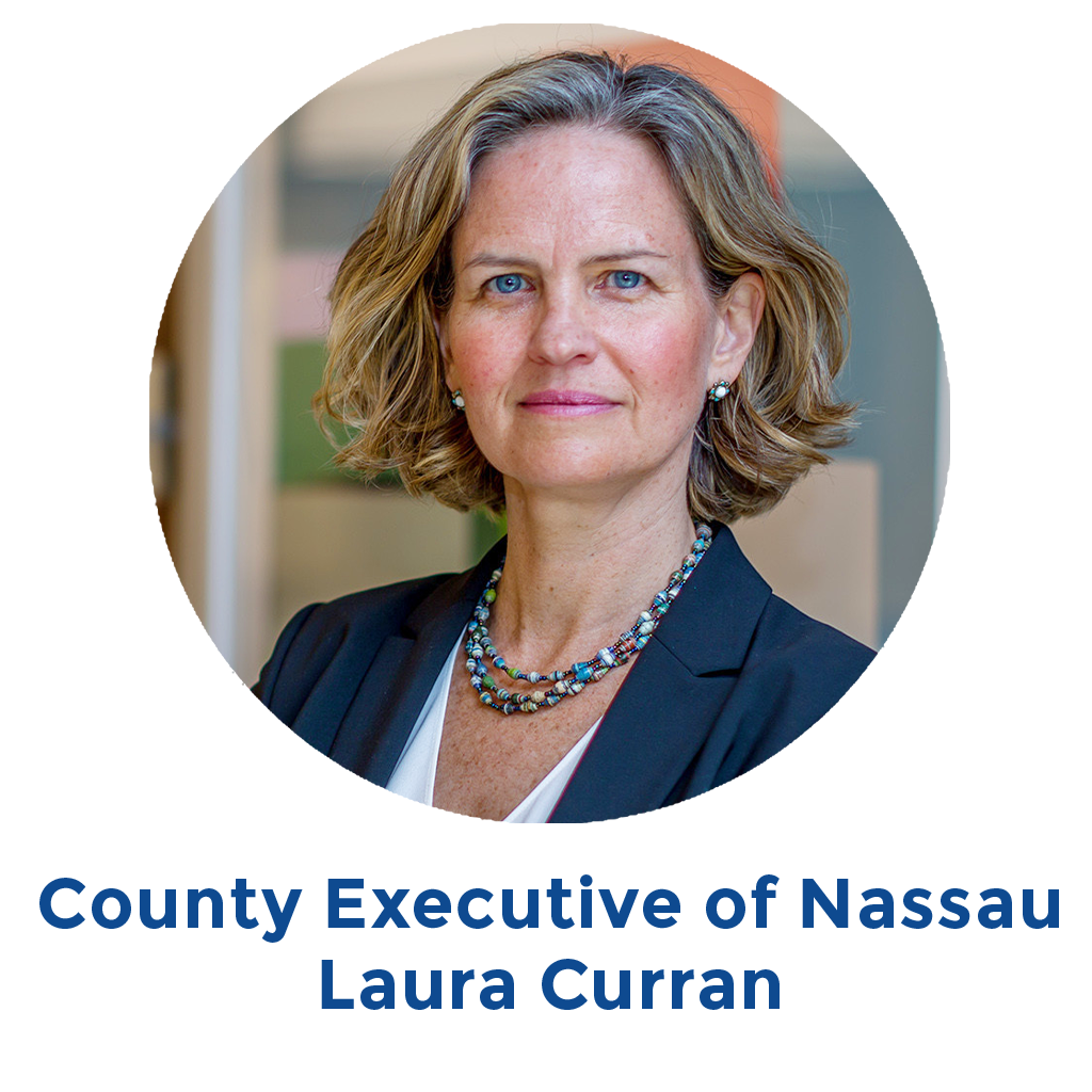 County Executive of Nassau Laura Curran