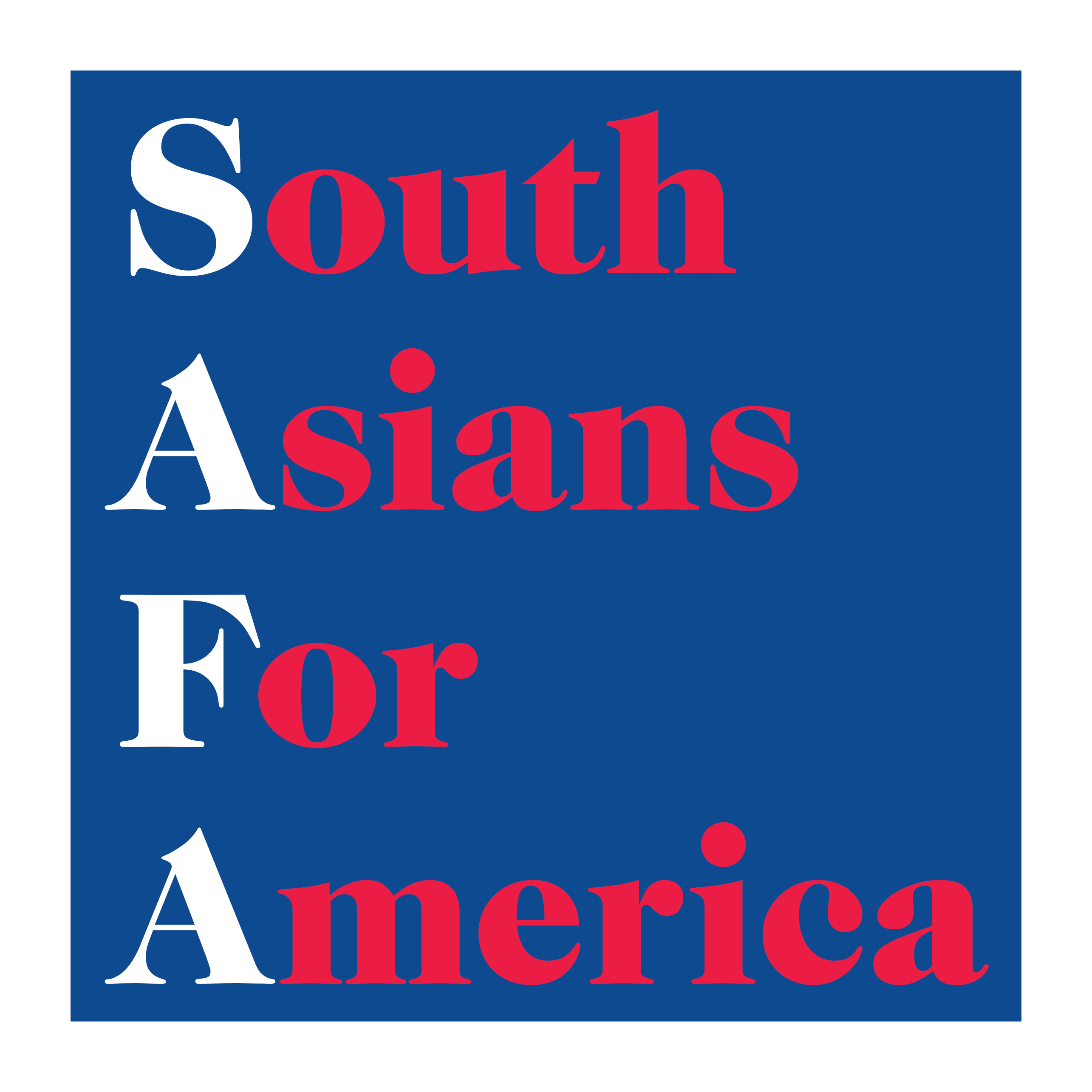 South Asians For America logo