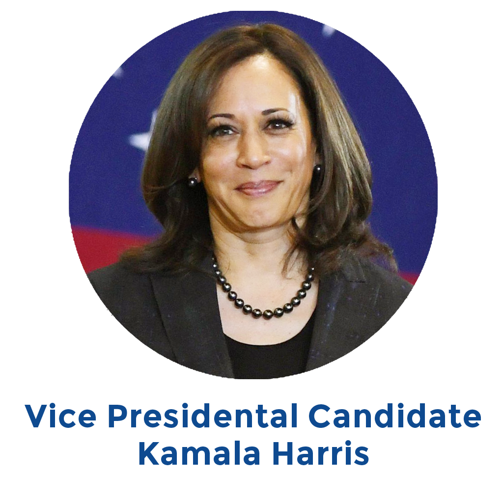 Vice Presidental Candidate Kamala Harris
